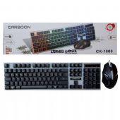 Carboon CK-1000 LED Aydınlatmalı Oyuncu Klavye-Mouse Set