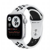Apple Watch Nike SE 40mm Silver Alüminyum Kasa ve Siyah Spor Kordon MYYD2TU/A