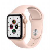 Apple Watch SE 44mm Gold Alüminyum Kasa ve Kum Pembesi Spor Kordon MYDN2TU/A